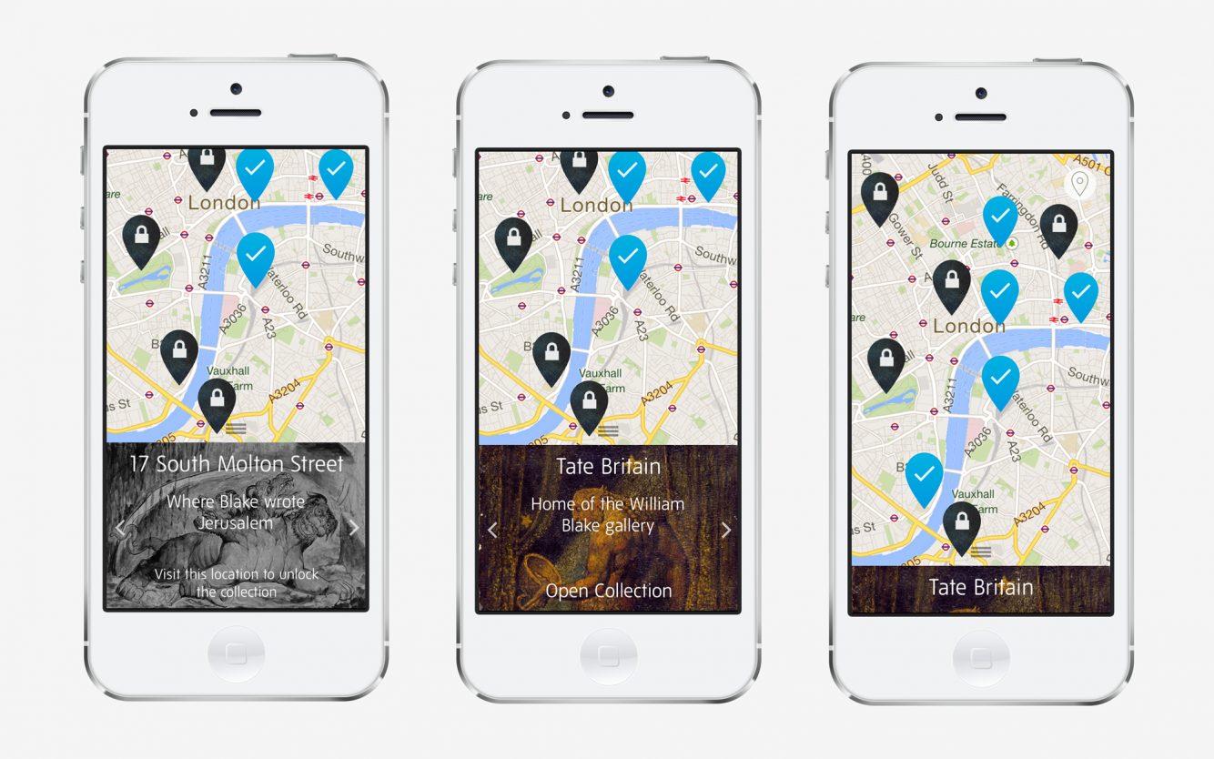 Tate Map Screens